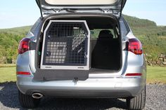 Dog Cage, Dog Crate, Dog Transit Box fitted to Audi Avant 2015 > Dog Cages For Cars, Dog Barrier, Airline Pet Carrier, Pet Carriers, Dog Crate, Audi A4, Crates, Boxer, Pets