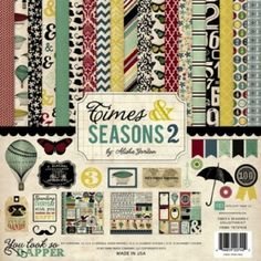 Echo Park - Times & Seasons 2 - Collection Kit 12x12 inch