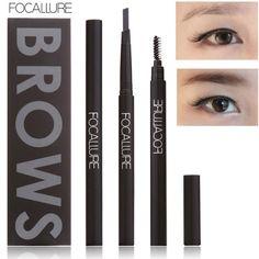 FOCALLURE New Makeup Eyebrow Pencil Waterproof Long-lasting Eye Brow Pencil Beauty Makeup Cosmetics Eyebrow