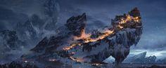 ArtStation - Winter Keep, Bram Sels