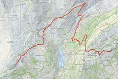 Wallis // Aletsch Panoramaweg 1. Etappe Grundkarte: http://www.swisstopo.admin.ch/