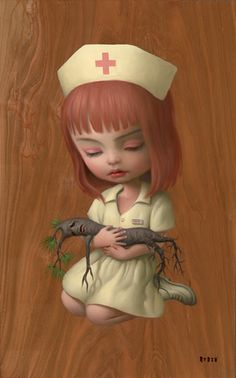 Mark Ryden... take care of our trees...