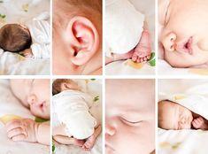 Идеи для съемки новорожденных и детей до года | 98 фотографий