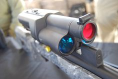 Tracking Point Laser targeting system scope on a Lapua Tactical Accessories, Vision Glasses, Lethal Weapon, Custom Guns, Hunting Rifles, Chuck Norris, Future Tech, Guy Stuff, Guns And Ammo