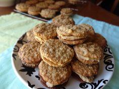 Oatmeal-peanut butter sandwich cookies
