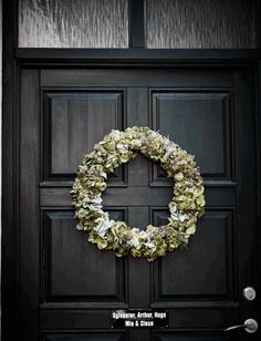 jul dør krans dekoration dørkrans diy // christmas front door decoration wreath