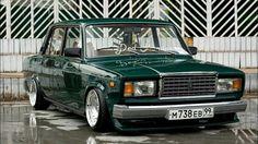 ВАЗ Lada 2107 dropped
