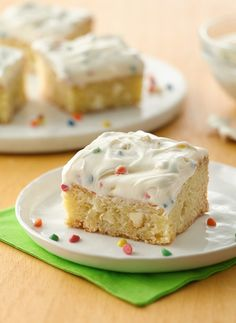 These cookie bars made with sugar cookie mix, white chocolate chips ...