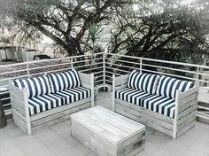 Pallet Patio Sitting Furniture | 99 Pallets