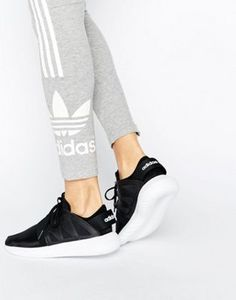 Adidas tubular shadow knit (white, brown, black) men 's shoes