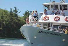 Gananoque Boat Line - 1000 Islands Cruises Pirate History, Romantic Love Stories, Thousand Islands, Best Cruise, Interactive Map, Boat Tours, Special Events, Sailing, Scenery