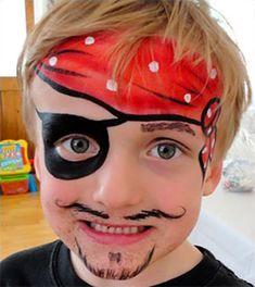 Trucco Viso pirata