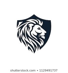 3d Art Drawing, Lion Drawing, Pencil Art Drawings, Animal Drawings, Lion Logo, Lion Head Logo, Tribal Lion Tattoo, Graphic Design Art, Logo Design