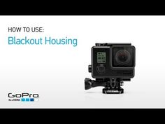 Blackout Housing Features a matte black finish for low-profile shooting. Waterproof to 131'/40m.  Compatibility: HERO3+, HERO3
