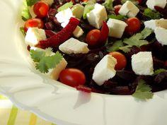 O Meu Tempero: Salada de Beterraba Com Requeijão