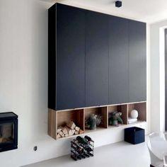 Kastenwand Ikea Metod met Fenix fronten