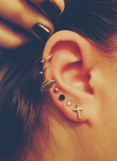 Lots o' ear piercage