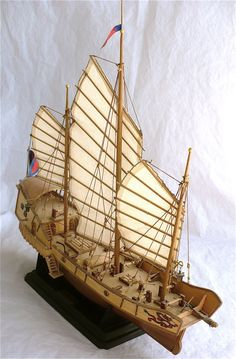 The Great Canadian Model Builders Web Page!: Chinese Junk Red Dragon