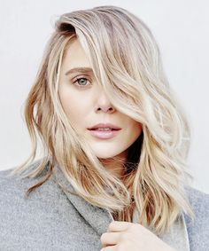 Elizabeth Olsen for The Hollywood Reporter Beauty Issue (November 2015)