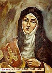 Beata Ana de S. Bartolomeu