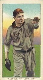 1909 White Borders 494 Rube Waddell St Louis Browns Baseball Card