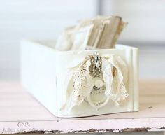 Vintage Creamy White Drawer