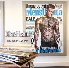 Stephen James 2015 Men's Health Award for Social Influencer of the Year