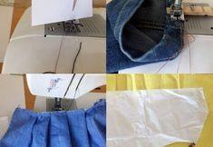 Trucos de costura muy útiles Baby Dress Patterns, Doll Patterns, Crochet Diy, Crochet Bikini, Crochet Doll Pattern, Crochet Patterns, Diy Vestido, Recycle Jeans, Design Blog