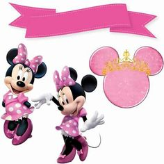 Minie Mouse Party, Mickey Mouse, Bolo Minnie, Minnie Cake, Minnie Birthday, 2nd Birthday, Owl Invitations, Baby Sketch, Kids Stickers