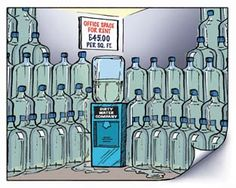 On average bottled water can sit for up to six months inside or exposed to the elements! Why not have for water FRESH!
