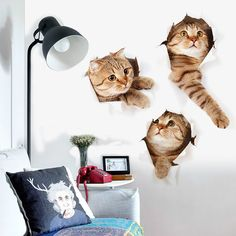 % DIY 3D Vivid Cats Toilet Switch Stickers Cartoon Switch Cover Protected Wall Stickers Vinyl Decals For Home Decor Poster Mural. Yesterday's price: US $0.58 (0.47 EUR). Today's price: US $0.58 (0.47 EUR). Discount: 41%.