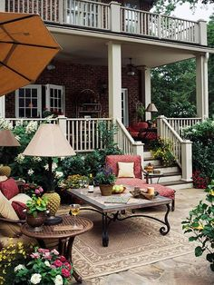 love it...great patio and porches