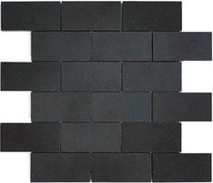 matte black subway tile google search
