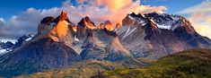 "Patagonia's epic landscapes—the granite-and-glacier realms of Paine and Fitzroy and remote Tierra del Fuego, the archipelago at the ""uttermost ends of the earth""—are like no other in the world. WT—In Patagonia—Wilderness Travel"