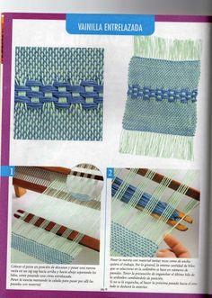 tejido en telar maria