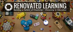 Blog on building a culture of creativity + discovery in education.