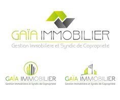 Propositions de logos Gaïa Immobilier