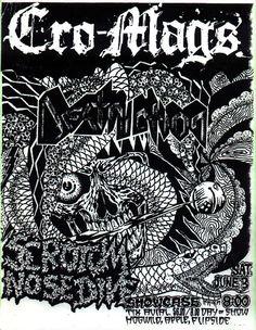 Cro Mags, Destruction