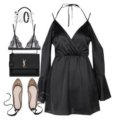 """""""Sem título #5313"""" by fashionnfacts ❤ liked on Polyvore featuring Boohoo, Yves Saint Laurent, La Perla and ASOS"""