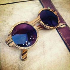Handmade Wooden Sunglasses