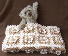 free pattern - Easy Daisy Granny Square pattern