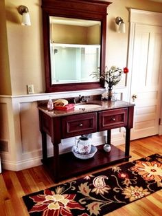 Country Home traditional-wash stand