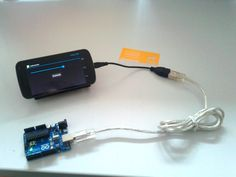 Galaxy Nexus to Arduino UNO via USB