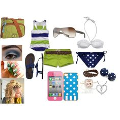 Date night at the Beach:), created by kennyloulou on Polyvore