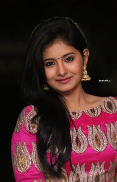 @itsReshmiMenon Cute @ReshmiMenonK in Pink Gown at Hyderabad Love Story Songs Launch Event  visit @ - http://bit.ly/1IFQi9t