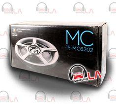 """Sourcing-LA: MEMPHIS MC6202 6.5"""" 200W 4 OHM COAXIAL CAR AUDIO S..."""