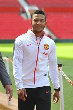Memphis Depay at Old Trafford