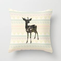 oh deerest me  Throw Pillow by berg with ice - $20.00