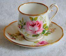 Royal Albert American Beauty Demi Demitasse Cup & Saucer