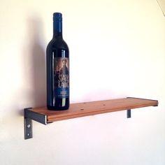 Girard Street Wall Shelf // Wine Shelf // Reclaimed by ReclaimedPA, $32.00 x 2  20'' Length x 6'' Depth x 4'' Height